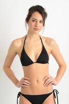 Becca Color Code Black Triangle Bikini Top