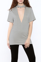 Audrey Stripe Tunic Top