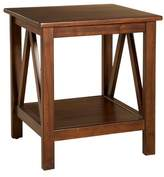 Linon Titian End Table Brown
