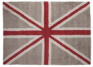 Lorena Canals Washable Rug (Flag Linen/Red)