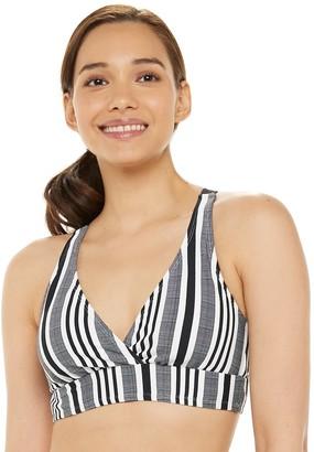 N. Women's Swimwear Strappy Bust Enhancer Bikini Top
