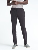 Banana Republic Slim Seersucker Wool-Blend Suit Trouser