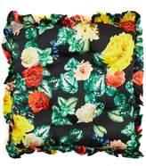 Preen by Thornton Bregazzi Floral silk-satin cushion