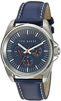 Ted Baker Men's 10025259 Vintage Analog Display Japanese Quartz Blue Watch