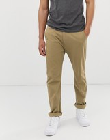 Levi's 502 regular tapered fit true chinos in harvest gold