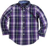 Chaps Boys 4-7 Long Sleeve Plaid Shirt