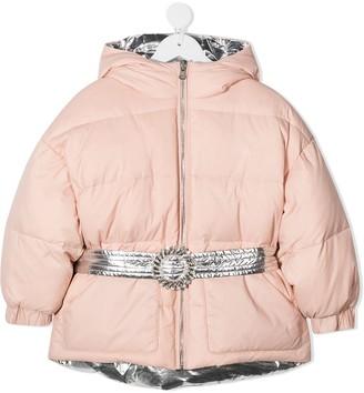 Douuod Kids Goose Down Hooded Jacket