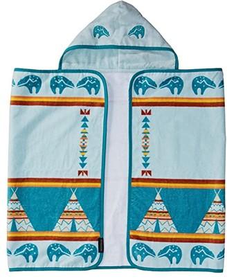 Pendleton Printed Hooded Baby Towel (Turquoise/Star Guardian) Bath Towels