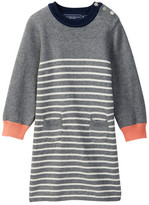 Toobydoo Rosa Striped Sweater Dress (Toddler Girls)