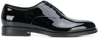 Giorgio Armani Varnished Oxford Shoes