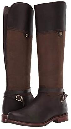 Ariat Carden Waterproof (Chocolate/Willow) Women's Boots
