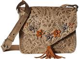American West Flower Power Flap Crossbody Bag Cross Body Handbags