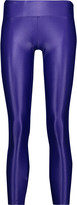 Koral Lustrous metallic stretch leggings