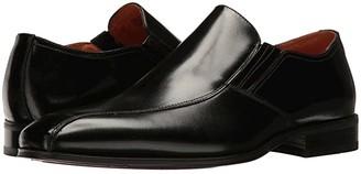 Florsheim Corbetta Bike Toe Slip-On (Black Smooth) Men's Slip on Shoes