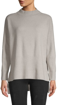 DKNY Long-Sleeve Wool-Blend Sweater