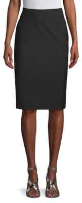 Lafayette 148 New York Slim-Fit Knee-Length Skirt