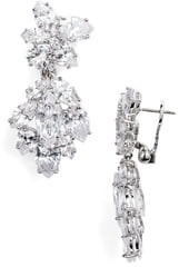 Nordstrom Cubic Zirconia Drop Earrings