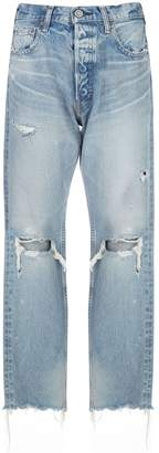 Moussy Vintage Odessa high-rise straight jeans