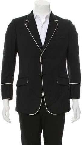 Gucci Wool-Blend Two-Button Blazer w/ Tags