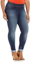 Peter Nygard Nygard SLIMS Plus Luxe Denim Skinny Cuff Jeans