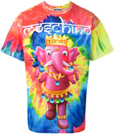 Moschino crowned elephant tie-dye T-shirt - men - Cotton - S