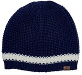 San Diego Hat Company Women's Knit Beanie with Contrast Stripe/Anchor KNH3475