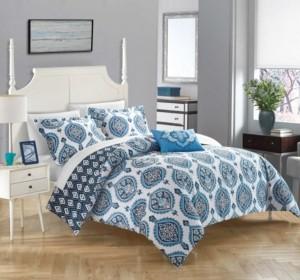 Chic Home Cedar 4 Pc King Duvet Cover Set Bedding
