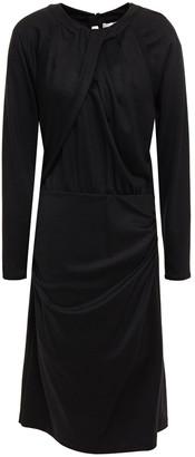 Diane von Furstenberg Bitsy Pleated Ponte Dress
