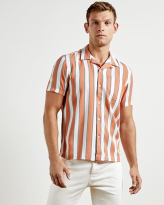 Ted Baker Lyocell Striped Shirt