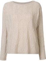 Nili Lotan textured knit jumper