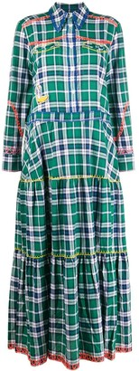 Mira Mikati Plaid Check Dress