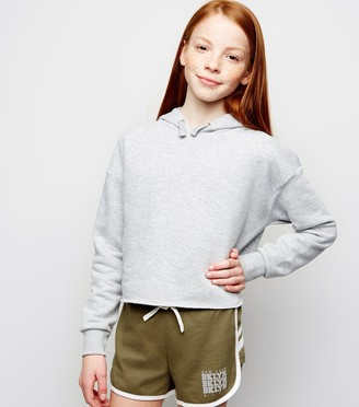 New Look Girls Brooklyn Jersey Shorts