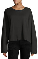 RtA Maurice Long-Sleeve Pullover Sweatshirt