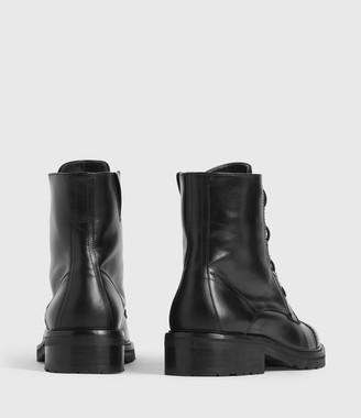 AllSaints Ariel Leather Boots