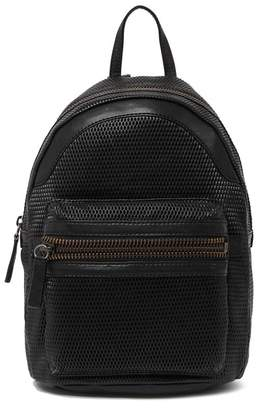 Frye Lena Leather Perforated Backpack