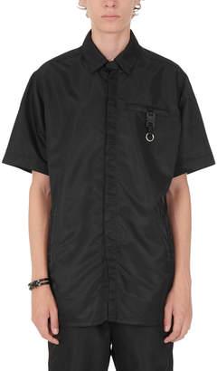 Alyx Buckle Black Short Sleeve Button Up Shirt