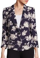 Smythe Floral Print Blazer