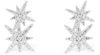 Apm Monaco Double Meteorites Stud Earrings