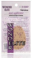 Wonder Products Wonder Elite Oval Applicator 1 Large Sponge