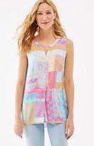 J. Jill Soft Sleeveless Print Shirt