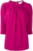Gianluca Capannolo ruched blouse - women - Acetate/Viscose - 40