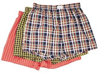 Tommy Hilfiger 3-Pack Woven Boxers (Multi) Men's Underwear