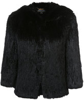 Rachel Zoe hooded jacket - women - Rabbit Fur - XS