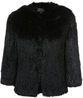 Rachel Zoe hooded jacket - women - Rabbit Fur - XS