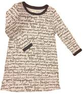 Kate Spade new york Long Sleeve Knit Sleep Shirt,Dream A Little Dream