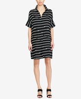 American Living Striped Twill Shirtdress