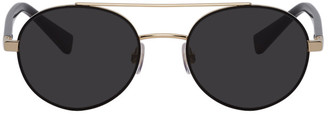 Dolce & Gabbana Gold Less Is Chic Sunglasses