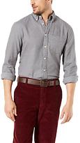 Dockers Flannel Shirt, Rock Heather