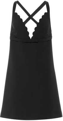Miu Miu Faille cady minidress