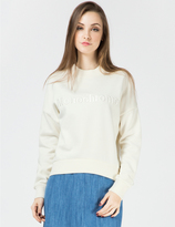 Harmony White Sabina Sweater